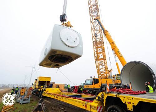 "Going Dutch: GE Starts Testing Giant ""Intelligent"" Wind Turbine in the Netherlands 0"