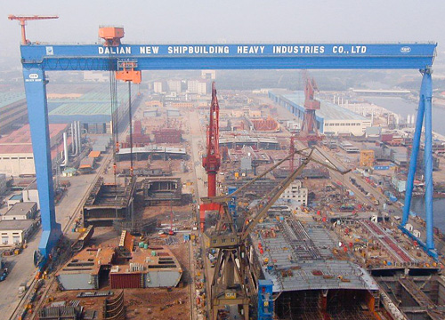 Brains for Cranes: GE Tech Gives Lift to Giant Shipyard Cranes 0