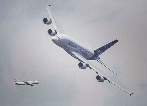 Heavy Lifting: GE Tech Powers World's Largest Passenger Jet 0