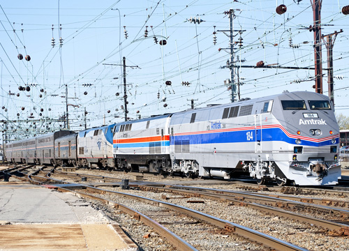Happy Rails To You: Amtrak's Chief Mechanical Officer Mario Bergeron Talks about Thanksgiving Travel and a Workhorse GE Locomotive 0