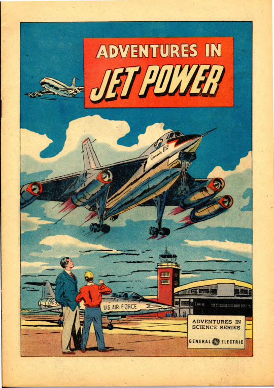 Found: This Old GE Comic Book Tells the Whole Incredible Story of the Birth of the Jet Age 0