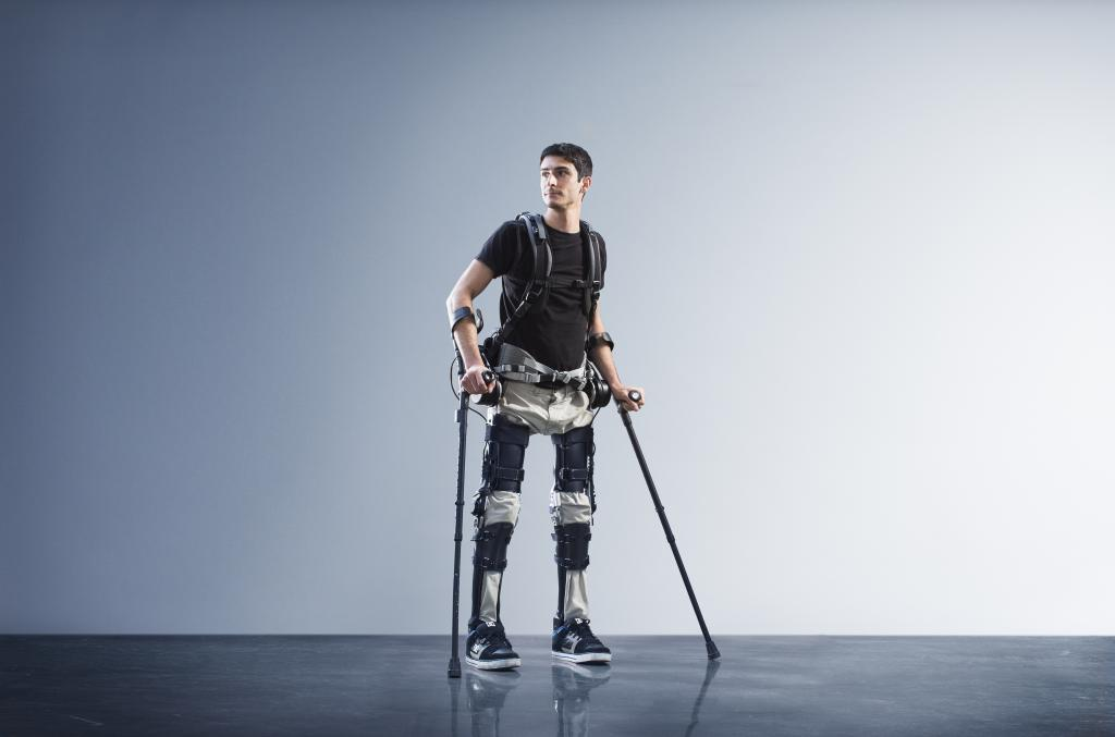 A Bespoke Suit of Carbon and Steel: Wearable Robotic Exoskeletons Help Paralyzed People Walk, Workers Become Iron Man