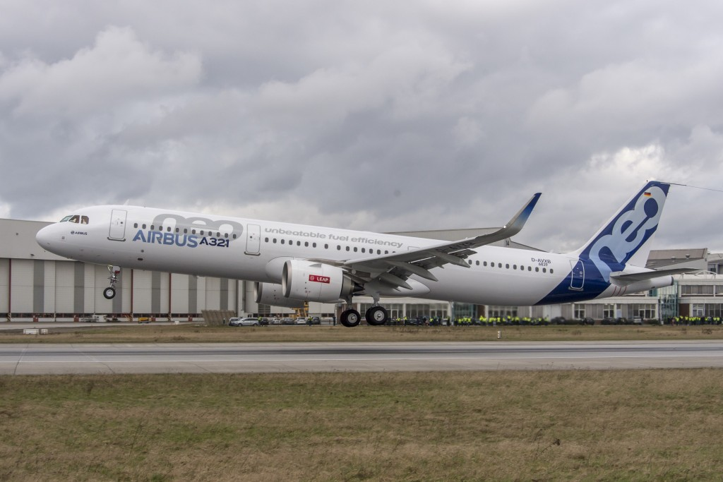 LEAP engines powers A321neo first flight - Airbus photo[1]