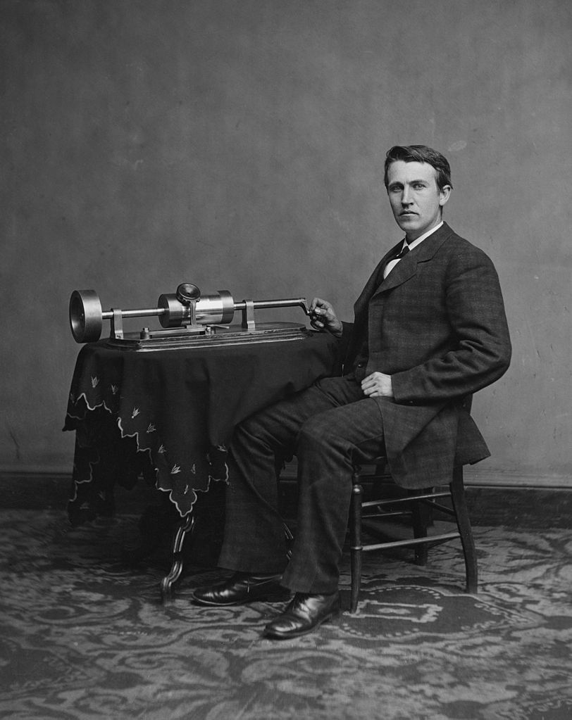 Before The Grammys: How Thomas Edison Invented The Music Industry
